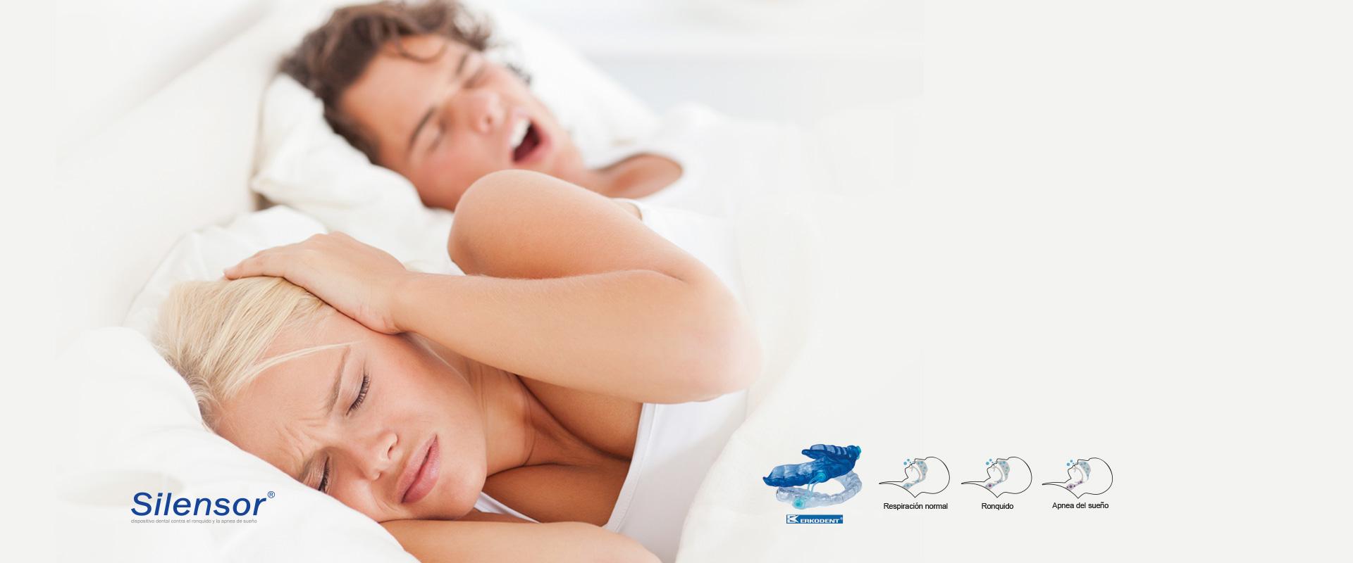 ¿Problemas de ronquidos<BR> y Apnea del sueño?